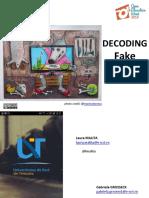 Decoding fake news at WUT