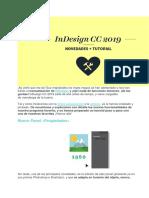 Introduccion a las novedades de Indesign v.2019