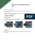 Differences Between the Original Arduino Uno, Uno R2 i Uno R3.docx