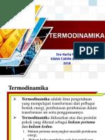 Termodinamika (Kimia Fisika)-1
