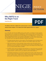 Why NATO Is on the Right Track