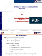 Speed Control of 3-Phase IM