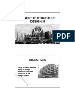 Introduction to concrete structure III