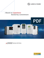 x2000 Ac Drive Range Catalogue
