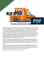 Food Truck Startup.