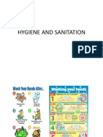 Hygiene and Santitation
