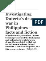 Duterte's drug war.docx