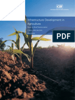 Infrastructure Development in Agriculture - Route to Rural Transformation