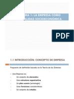 Tema 1 - La empresa como realidad socioeconómica [Modo de compatibilidad]
