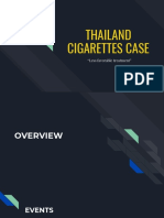 Thai Cigarettes