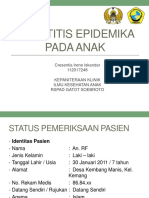 Parotitis epidemika pada anak.pptx