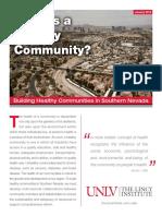 Health Community January2012
