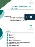 Atuação Fonoaudiologica no Telemarketing