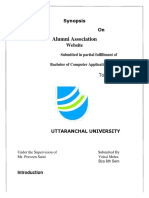 synopsis(alumni association).docx