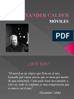 ALEXANDER CALDER móviles