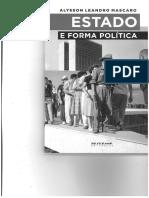 MASCARO - 2013 - Estado e Sociedade