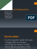 Cyclone Dan Hydrocyclone