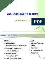 agilecodequalitymetrics-110330055947-phpapp01