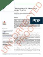 Developmental Biology, The Stem Cell Of