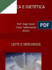 TÉCNICA E DIETÉTICA - CARACTERISTICAS DE ALIMENTOS