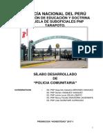 SILABO DE SEGURIDAD COMUNITARIA -honestidad.docx
