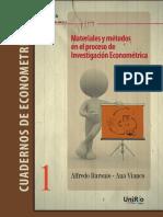 Cuadernos de econometría Baronio Vianco