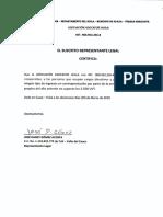 Certificado Remuneracion Cargos Directivos