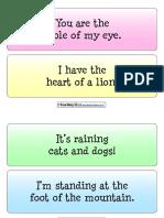 Metaphors Examples
