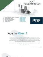 mixer ppt