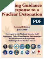 Planning Guidance Nuclear Detonation