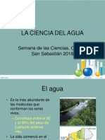 Charla La Ciencia Del Agua