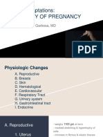 Physiology of Pregnancy