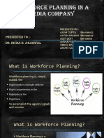 Workforce Planning in a Media Company