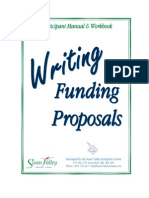 Proposal Workshop Manual