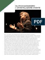 L'OPERA ASSOLUTA DI ALESSANDRO BERGONZONI UN'INSTALLAZIONE VIVENTE.docx