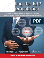 (Resource Management) Michael W. Pelphrey-Directing the ERP Implementation_ A Best Practice Guide to Avoiding Program Failure Traps While Tuning System Performance-CRC Press (2015).pdf