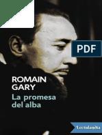 La promesa del alba - Romain Gary.pdf