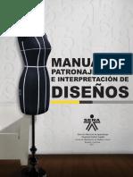 Manual  patronaje e interpretación de diseños