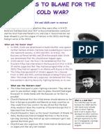 Origins of Cold War Revision