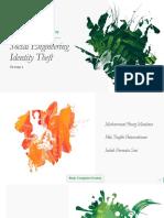 Social Engineering Identity Theft