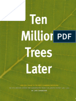Ten Million Trees Later - First Chapter