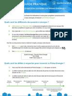 Guide Pratique - Comment Compléter Son Dossier de Prime Énergie