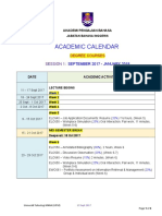 Academic Calendar (Degree) Sept 2017 (130917)