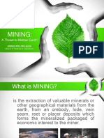 Environmental Issues in Mining