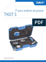 Manual Equipo SKF Par Análisis de Grasas TKGT1