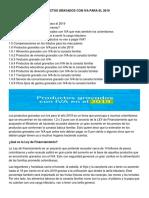 PRODUCTOS GRAVADOS CON IVA PARA EL 2019 (1).docx