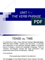 1.Verb Phrase Intro