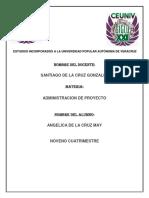 La Gestión de la Integración del Proyecto.docx