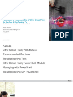 Automation and troubleshooting of Citrix Group Policy for XenApp & XenDesktop 7.x - Architecture.ppt
