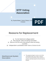 wtp voting association dra